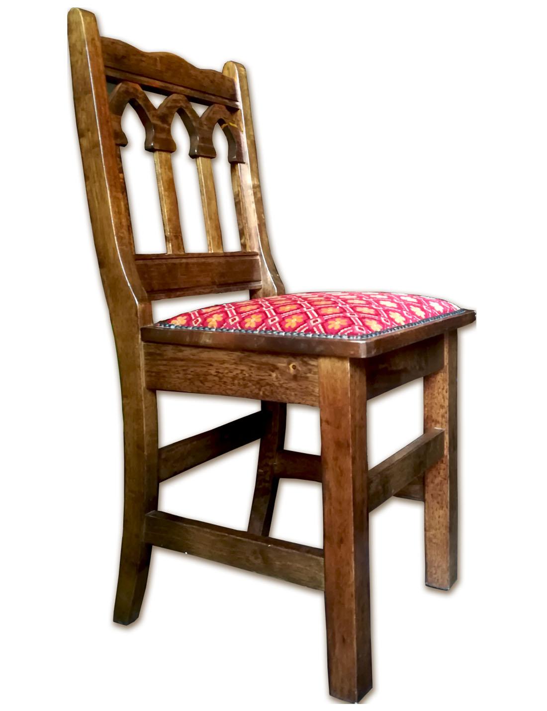 Mobili In Stile Gotico sedia di legno stile gotico